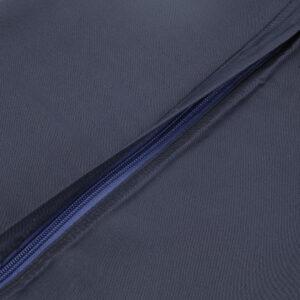 Bambus pudebetræk i navy blå