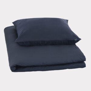 Bambus sengetøj navy blå