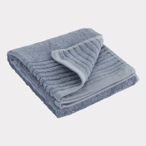 Bambus gæstehåndklæde blå fra Bambuni