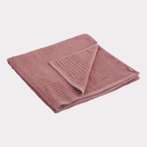 Bambus håndklæde rød Bambuni