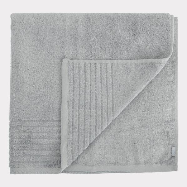 Bambus håndklæde lysegrå fra Bambuni