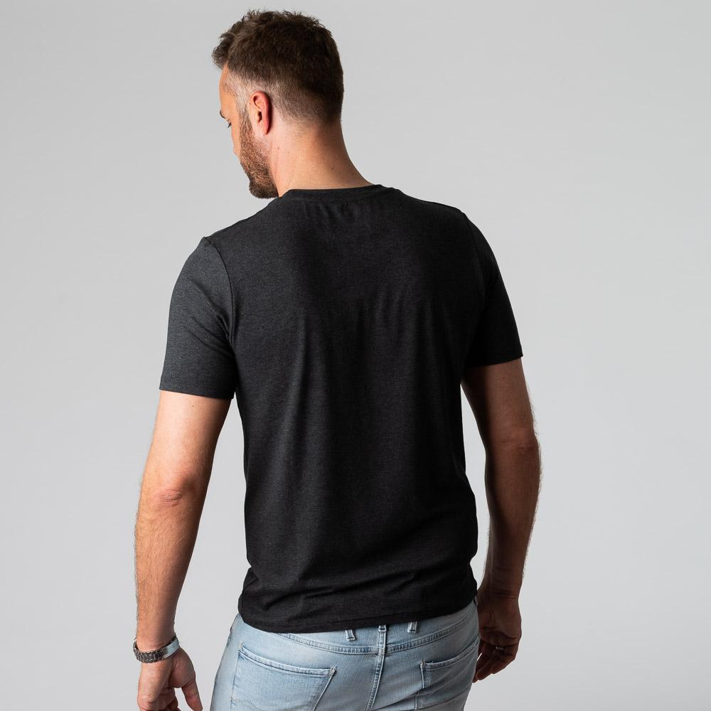 Bambus t-shirt koksgrå til mænd fra Bambun