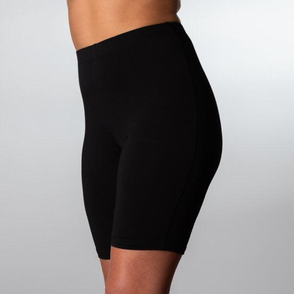 Bambus shorts i sort til kvinder fra Bambuni