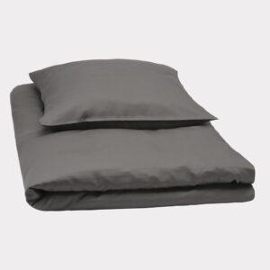 Bambus sengetøj junior 100x140 koksgrå
