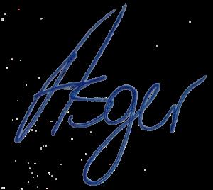 Asger Kragh signatur
