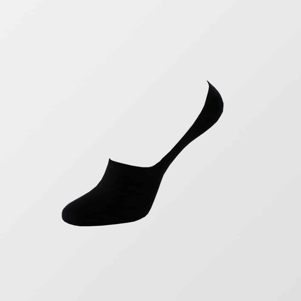 Image of   Bambus footies strømper i sort til kvinder - str. 36-45 - Fra 28 kr./stk