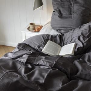 ambus sengetøj koksgrå 140*220 fra Bambuni