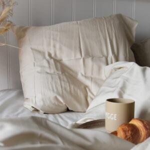 ambus sengetøj beige 140*220 fra Bambuni